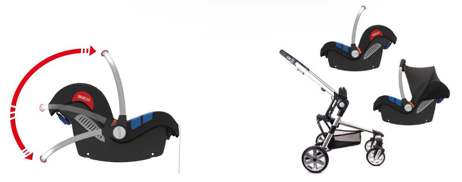 kindersitz sparco f300i grau 0 13 kg grau. Black Bedroom Furniture Sets. Home Design Ideas
