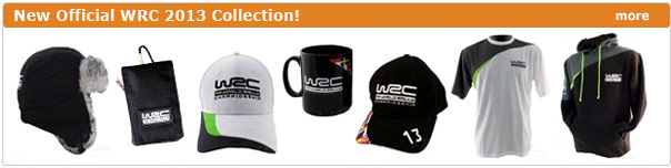 New 2013 WRC collection