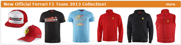 New Ferrari 2013 collection!