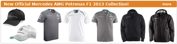 New 2013 Mercedes AMG F1 Team collection!