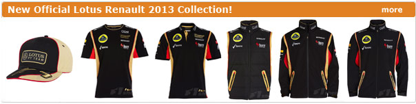 New Lotus Renault 2013 collection!