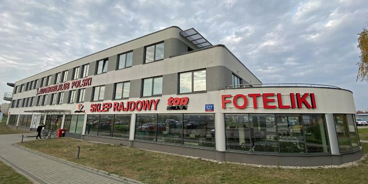 Sklep Rajdowy w Automobilklubie Polski