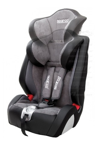9-36 kg Italy Sparco F1000K Grey Child Seat 19-79 lbs