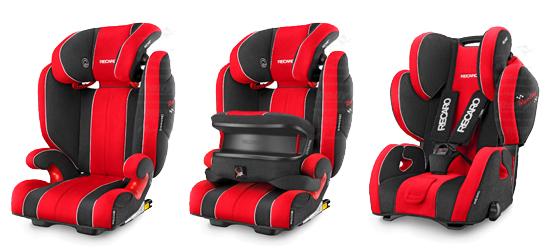 Recaro Genuine Monza Nova 2 Seatfix Racing Edition Child Seat (33-80 ...