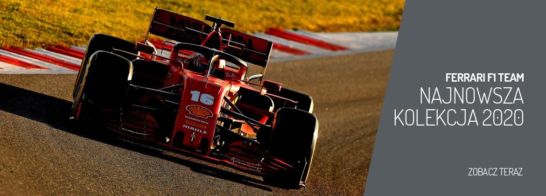 Najnowsza kolekcja Ferrari F1 Team 2020