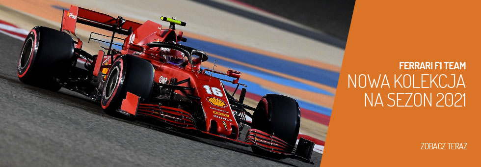 Najnowsza kolekcja Ferrari F1 Team 2021