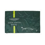 Flaga Team zielona Aston Martin Racing