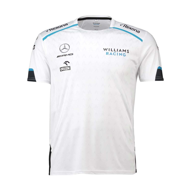 b318927de0e58a Koszulka t-shirt męska biała Team Williams Racing 2019 | Odzież ...